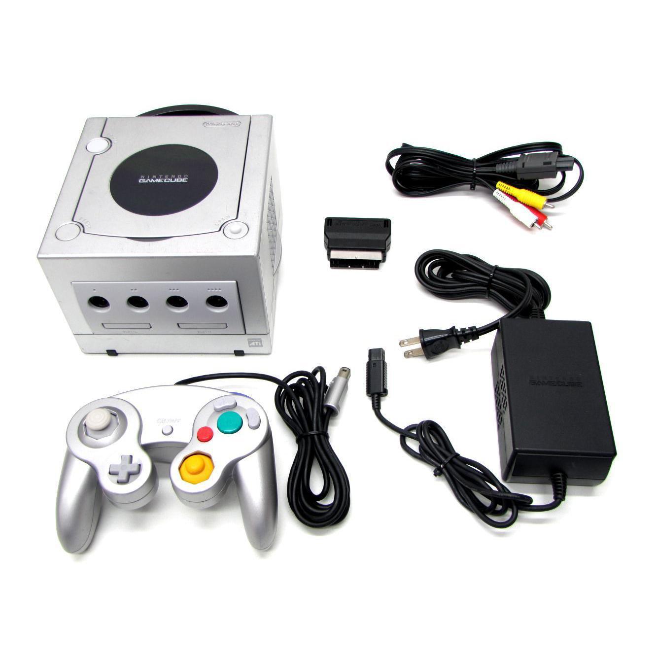 Nintendo GameCube - HDD 0 MB - Grå