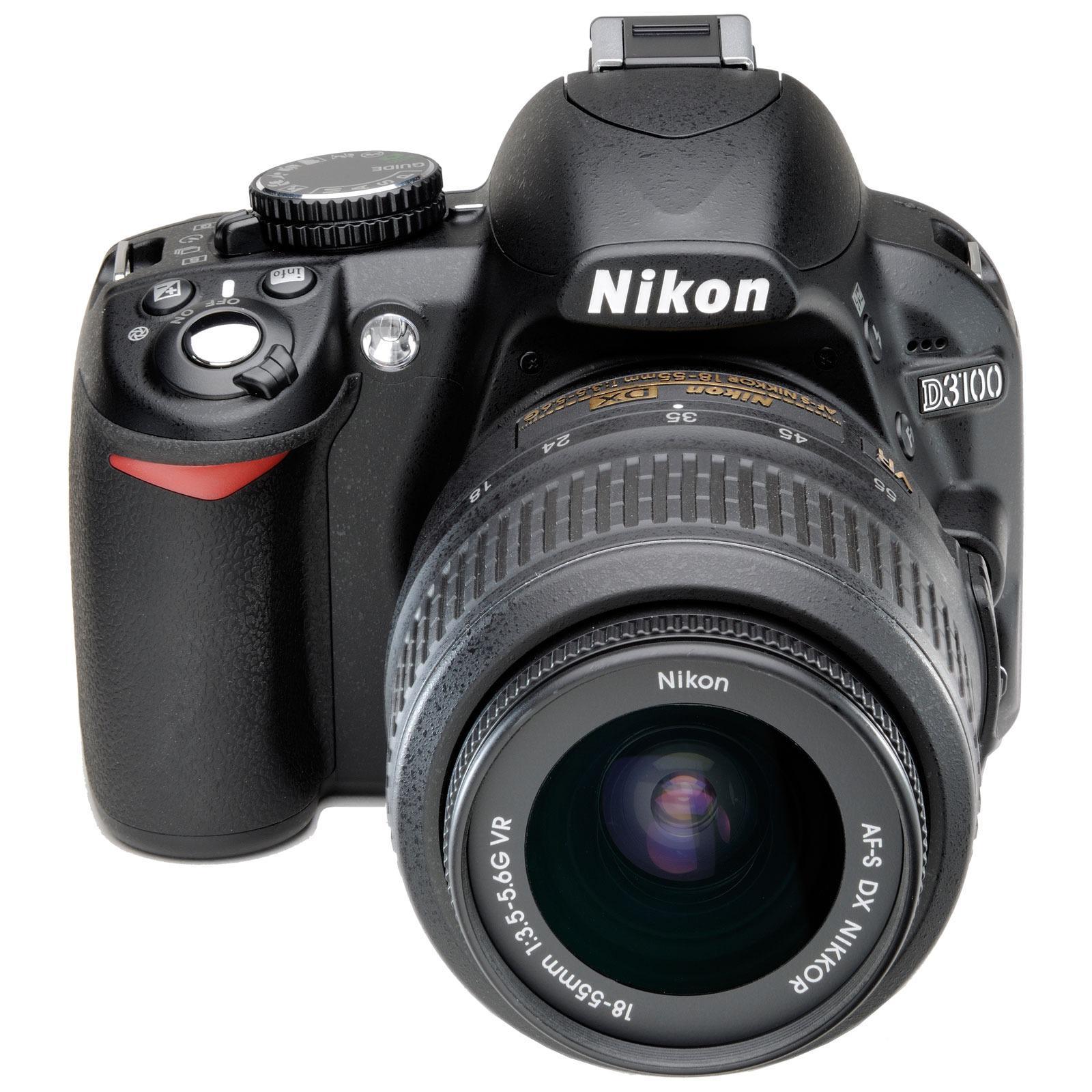 Nikon D3100 Reflex 14Mpx - Black