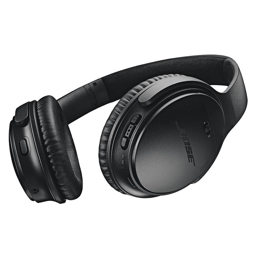 Kopfhörer Rauschunterdrückung   Bluetooth  mit Mikrophon Bose QuietComfort 35 II - Schwarz