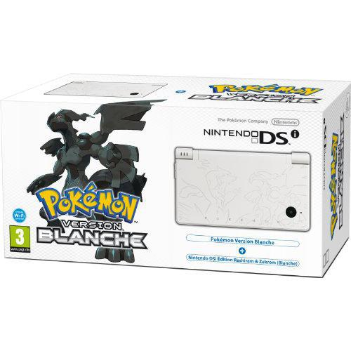 Console Nintendo DSi 4 Go Version Pokemon - Blanc