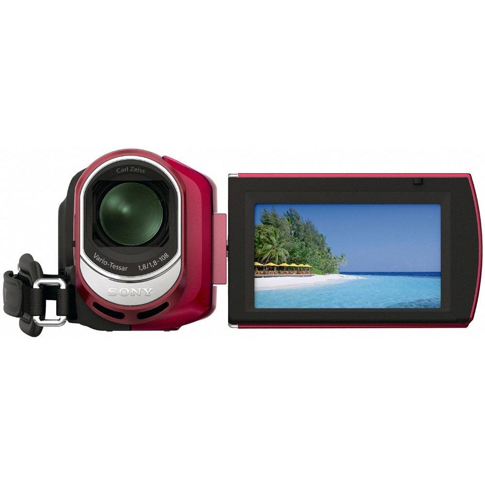 Caméra Sony DCR-SX30E - Rouge