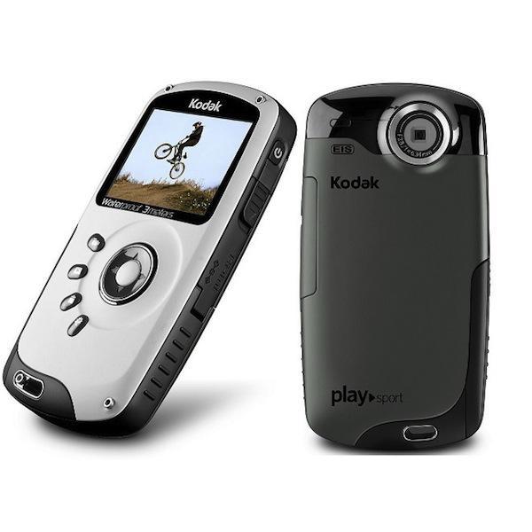 Caméra Kodak PlaySport ZX3 - Blanc/Noir