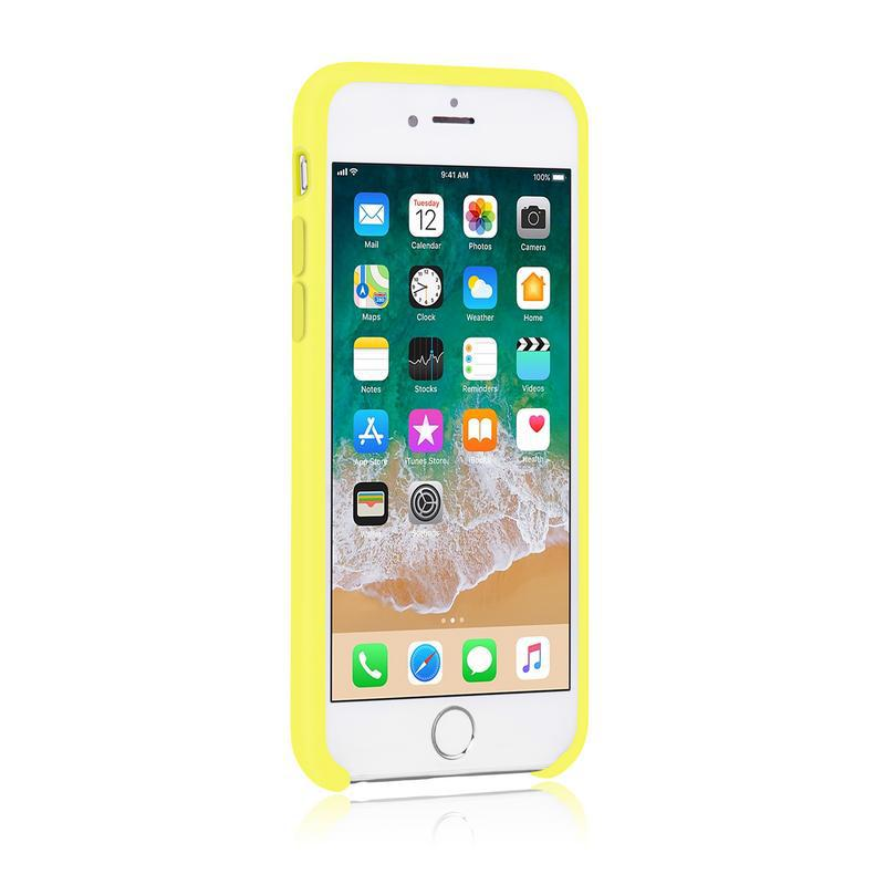 iPhone 7/8/SE (2020) - Silicone - Yellow