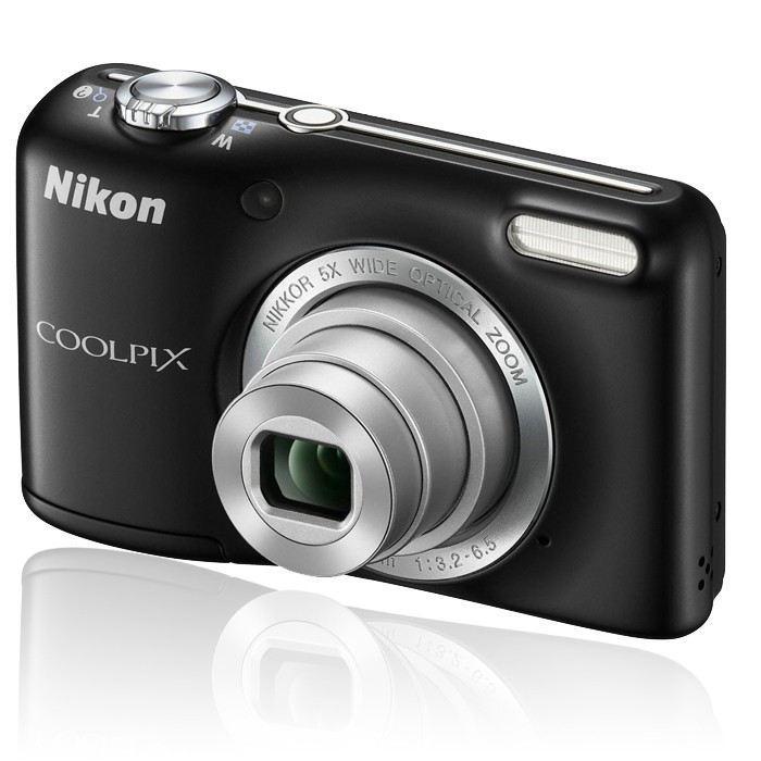 Compact - Nikon Coolpix L27 Noir Nikon Nikkor 5X Wide Optical Zoom Lens