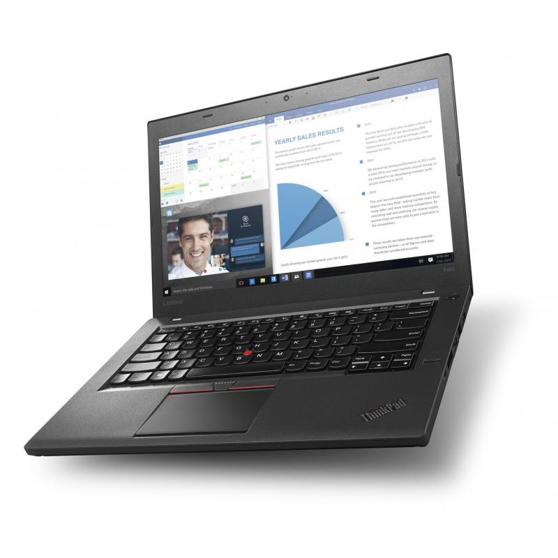 """Lenovo ThinkPad T460 14"""" Core i5 2,3 GHz  - SSD 250 Go - 8 Go QWERTY - Espagnol"""
