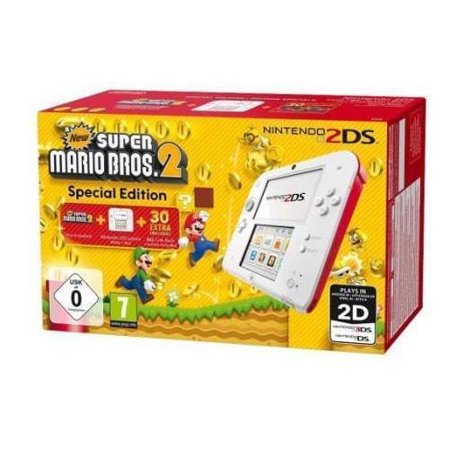 Nintendo 2DS - HDD 1 GB - Biela/Červená