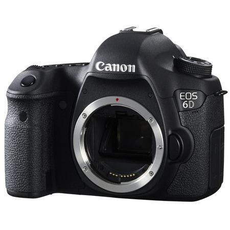 SLR - Canon EOS 6D Ohne Objektiv - Schwarz