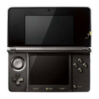 Konsoli Nintendo 3DS + The Legend of Zelda Ocarina of Time 3D - Musta
