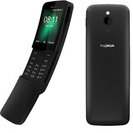 Nokia 8110 4G Dual Sim - Black - Unlocked
