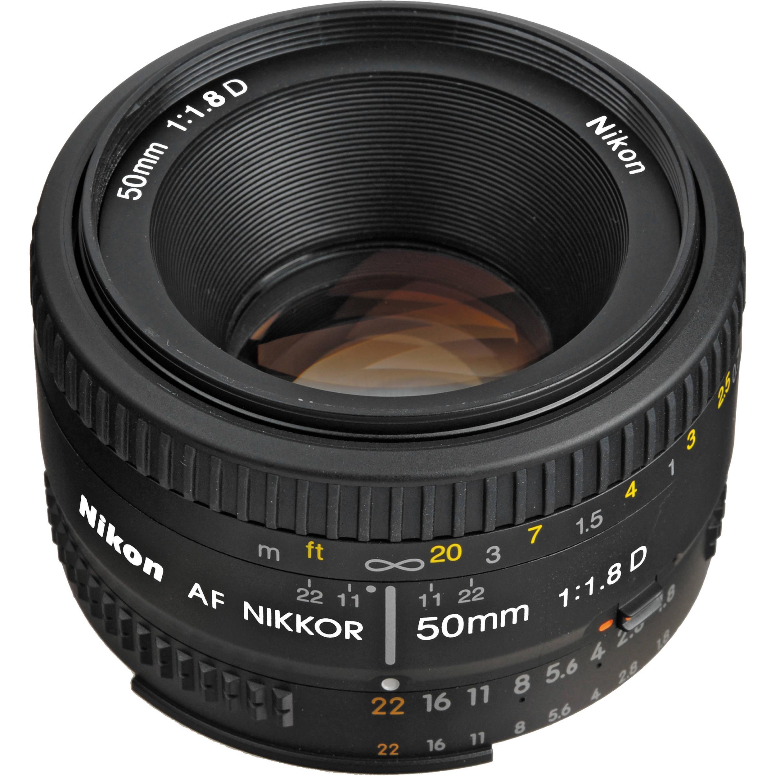 Objektiv F 50mm f/1.8