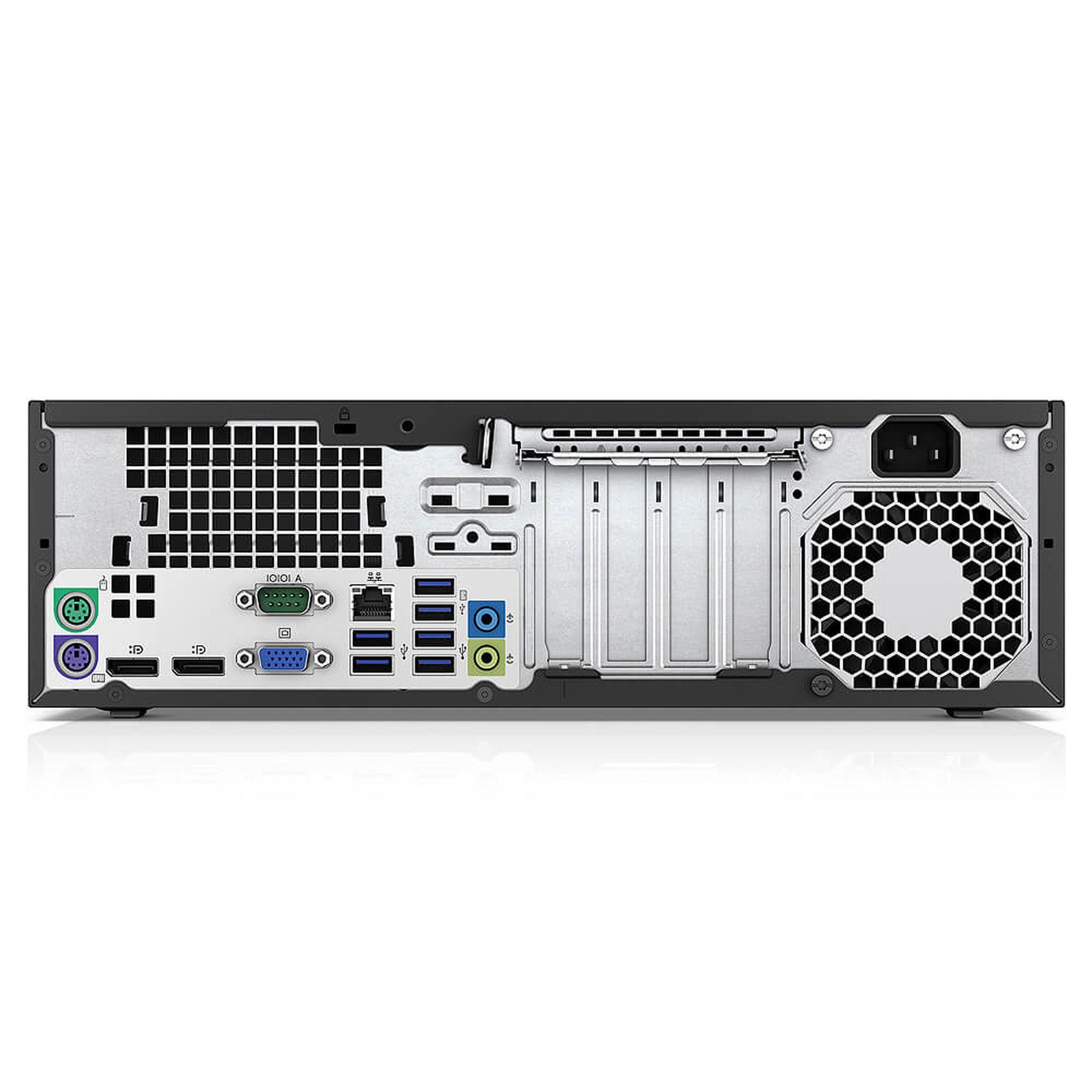 HP EliteDesk 800 G1 SFF Core i5 3,2 GHz - SSD 240 Go RAM 8 Go