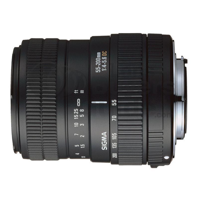 Sigma Objektiv SA 55-200mm f/4-5.6