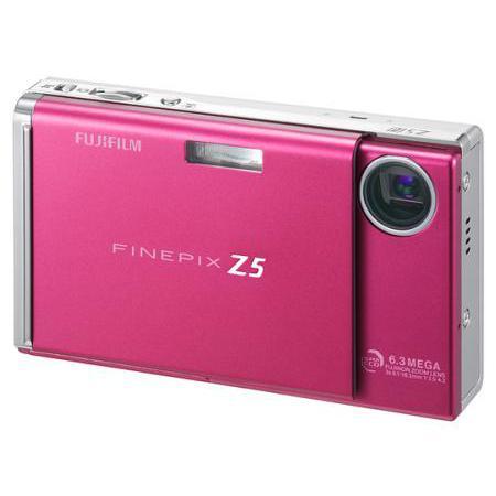 Fujifilm FinePix Z5FD Kompakt 6 - Rosa