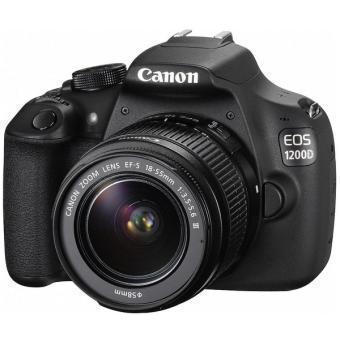 Reflex - Canon EOS 1200D + Objektiv EF-S 18-55 III