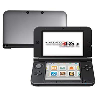 Console Nintendo 3DS XL 4Go - Argent/Noir