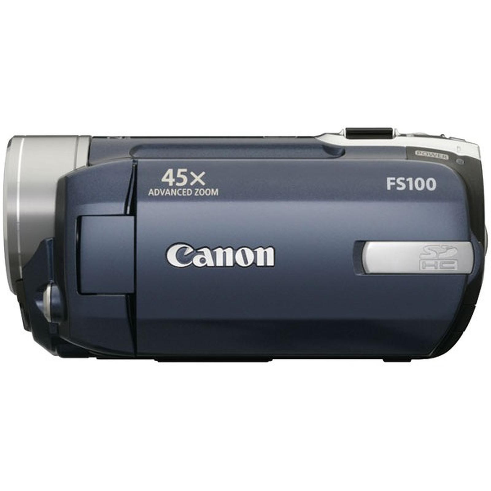 Caméra Canon FS100 USB 2.0 Hi Speed - Bleu/Argent