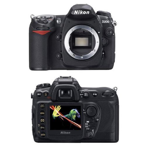 Nikon D200 Zrkadlovka 10,2 - Čierna