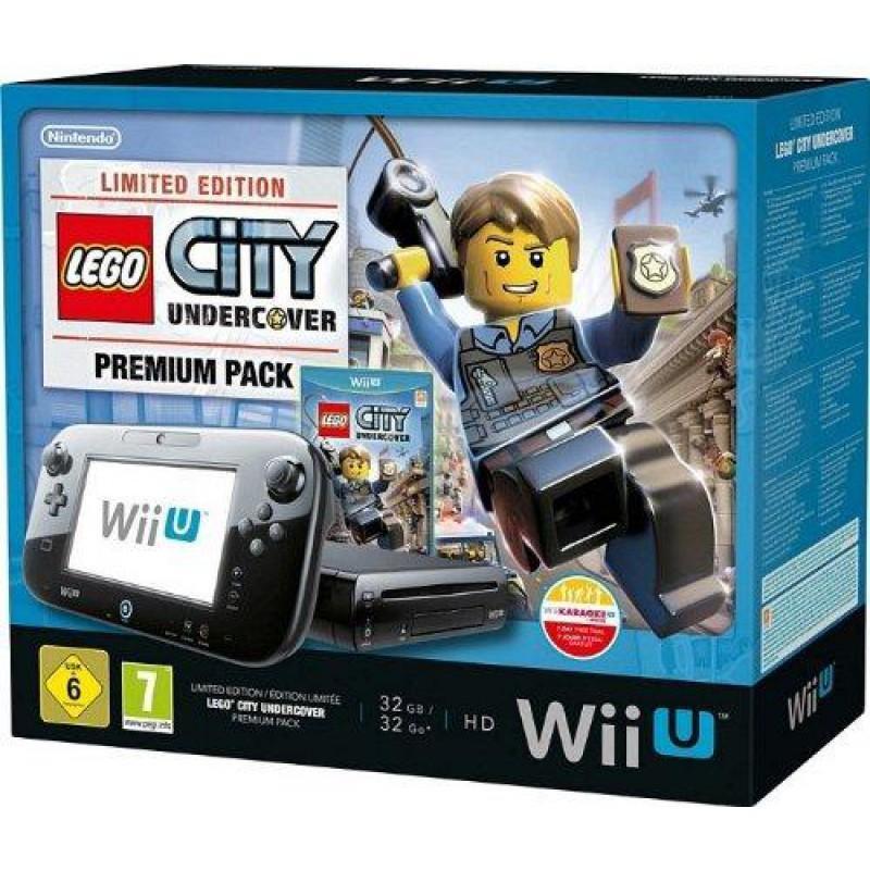 Nintendo Wii U - HDD 32 GB - Schwarz