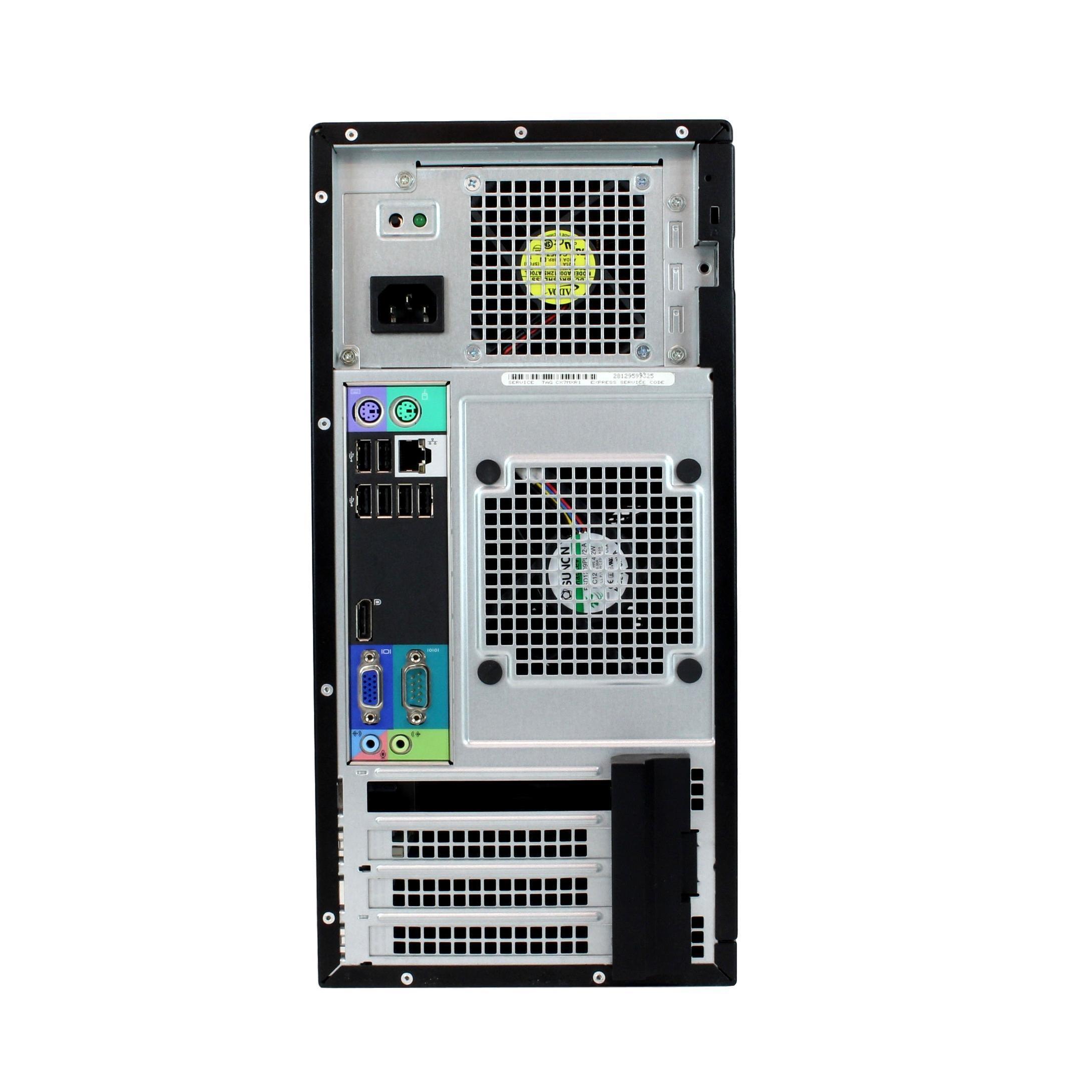 Dell OptiPlex 790 MT Core i3 3,3 GHz - HDD 250 Go RAM 2 Go