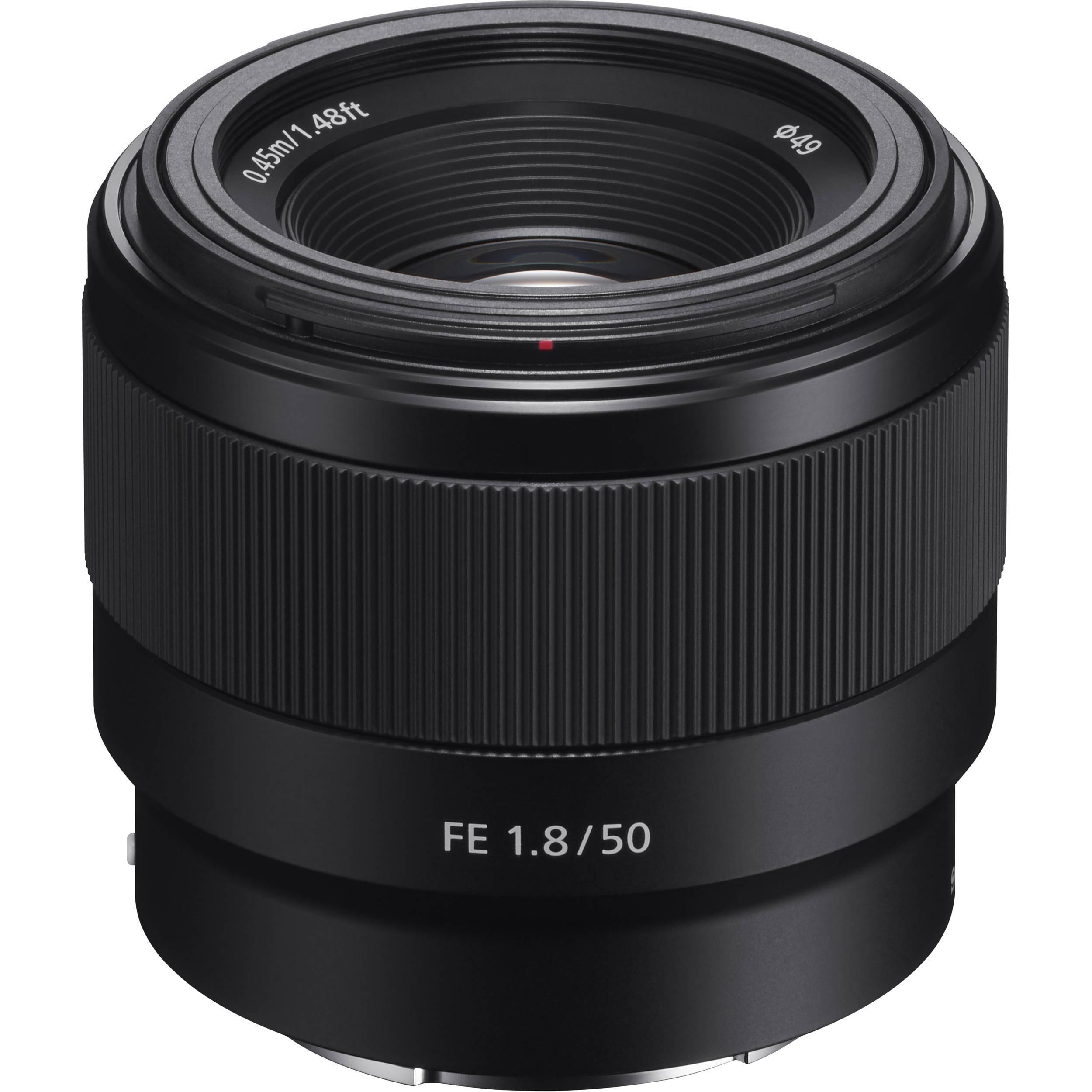 Objectif Sony Sony FE 50mm f/1.8