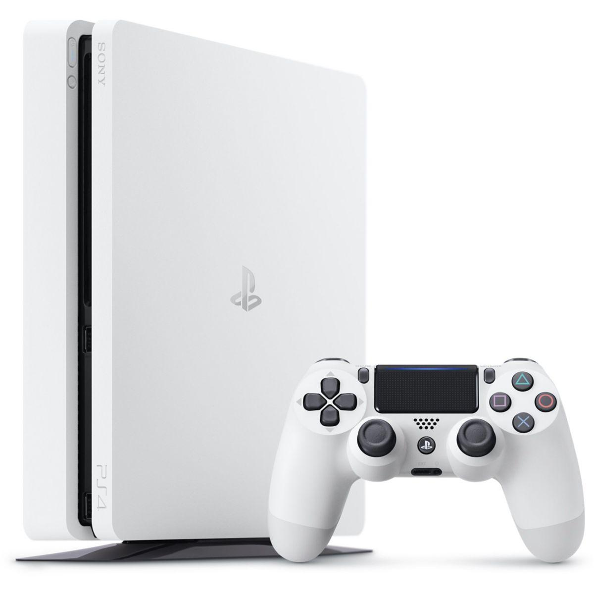 PlayStation 4 Slim - HDD 500 GB - White
