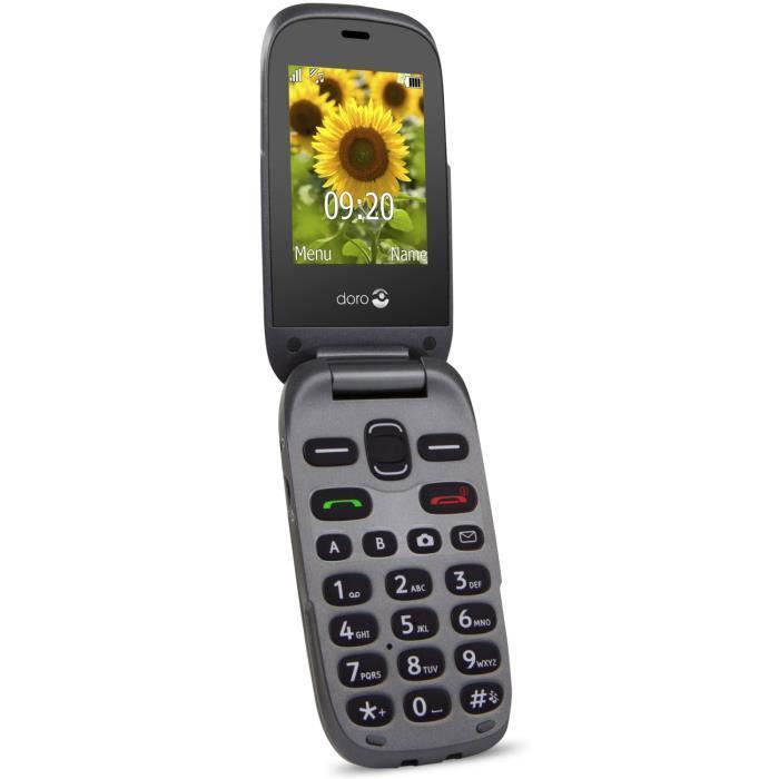 Doro 6030 - Black - Unlocked