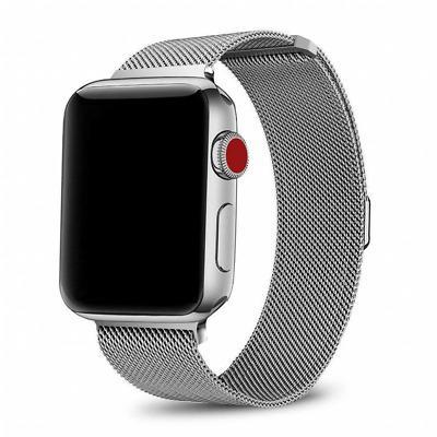 Apple Watch (Series 1) 42 mm - Acier inoxydable Argent - Bracelet Milanais Argent