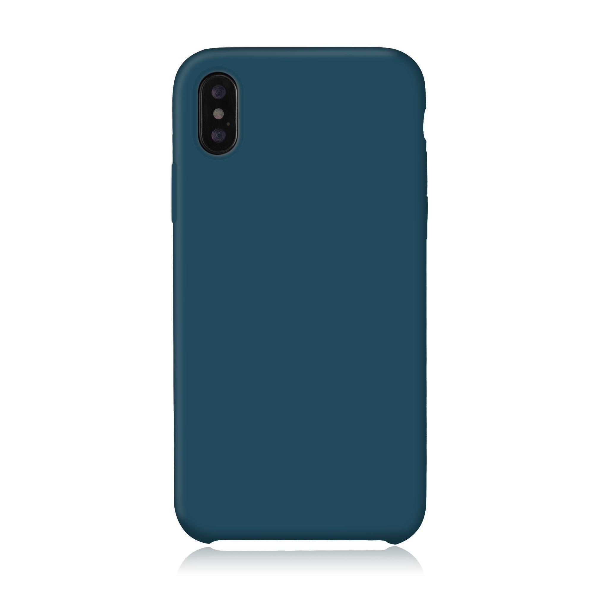 coque iphone xs bleu cape
