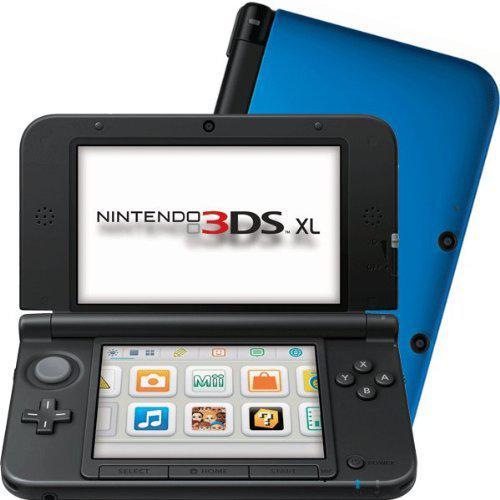 Nintendo 3DS XL - HDD 0 MB - Blue/Black