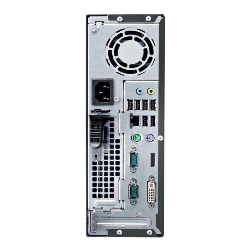 """Fujitsu Esprimo C720 SFF 27"""" Core i3 3,4 GHz - SSD 480 Go - 16 Go AZERTY"""