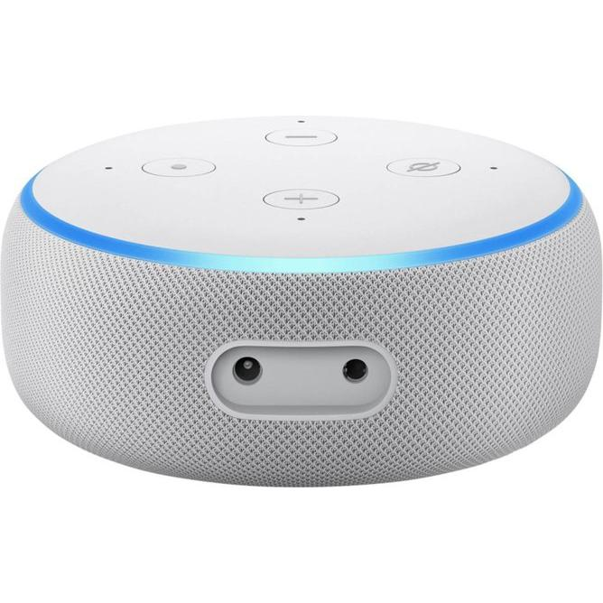 Enceinte Bluetooth Amazon Echo Dot (3ème génération) - Blanc/Bleu