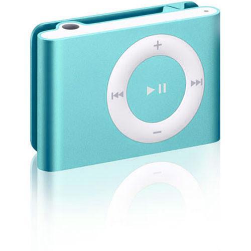 iPod Shuffle 2 mp3 & mp4 spelare 1gb- Blå