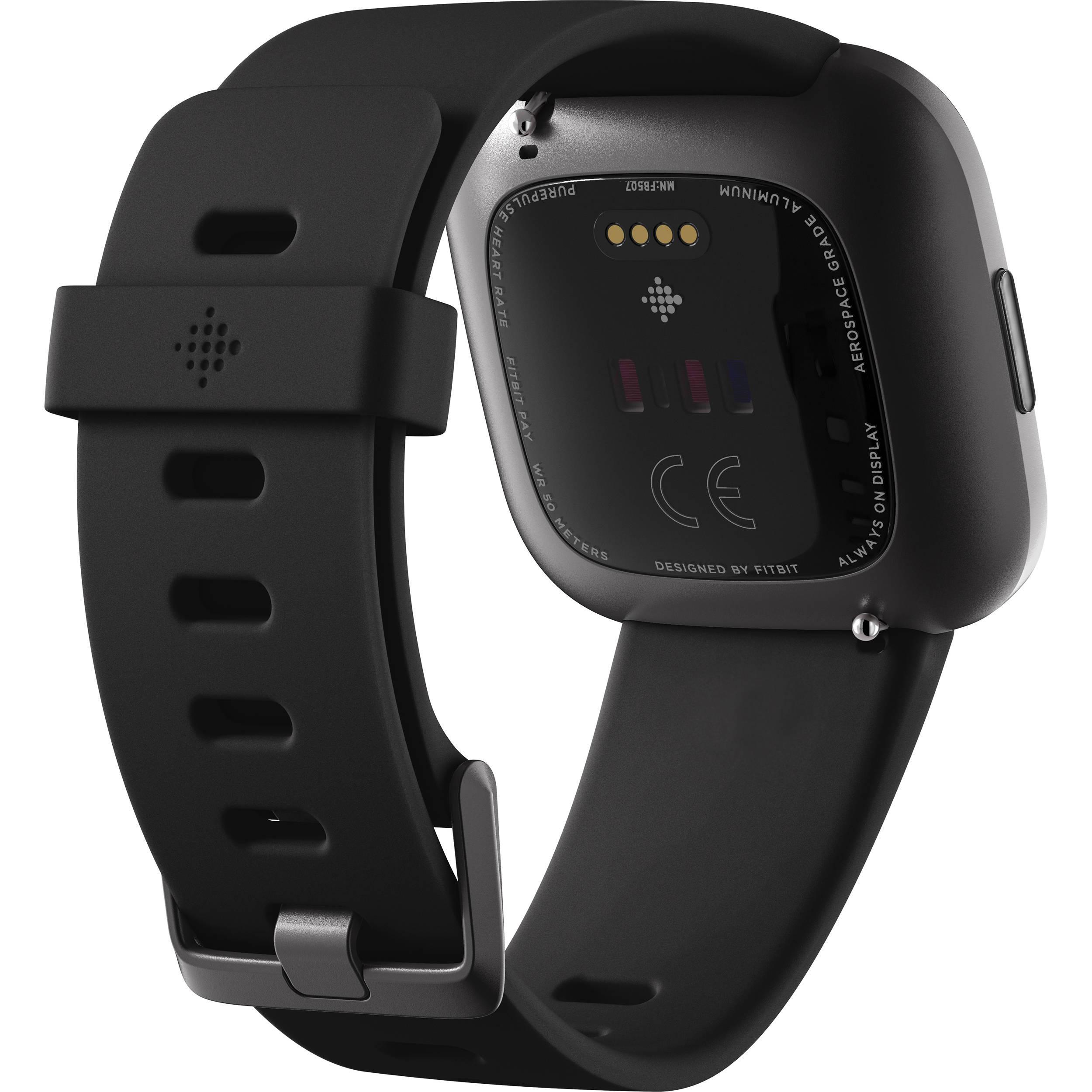 Montre Cardio Fitbit Versa 2 - Noir