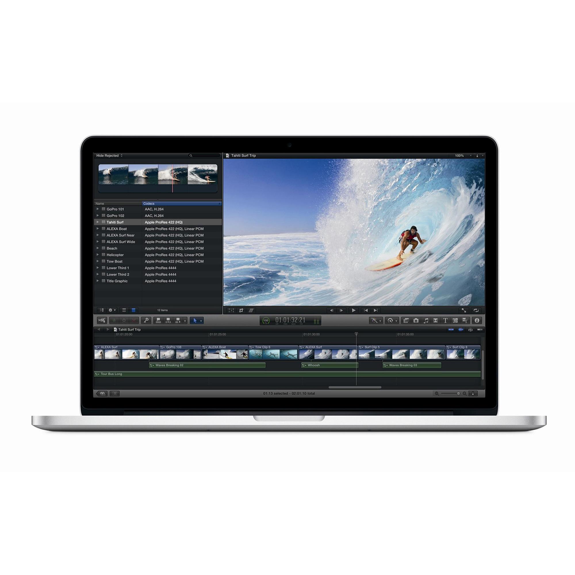 MacBook Pro Retina 15,4-tum (2015) - Core i7 - 16GB - SSD 1 TB QWERTZ - Tyska