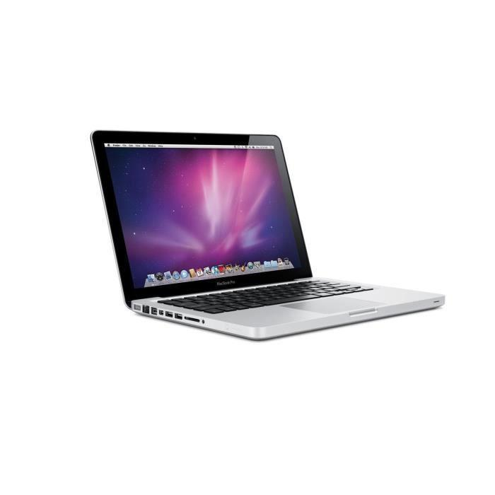 MacBook Pro 13.3-inch (2009) - Core 2 Duo - 4GB - SSD 120 GB AZERTY - French