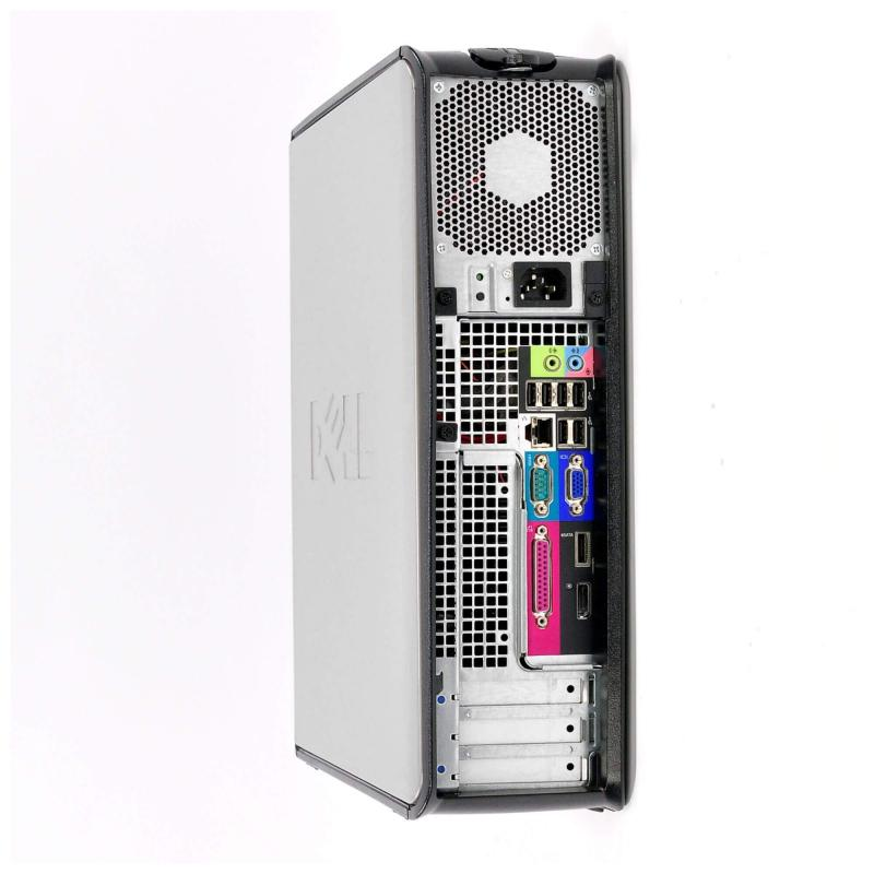 Dell OptiPlex 780 DT Core 2 Duo 2,6 GHz - HDD 250 Go RAM 4 Go