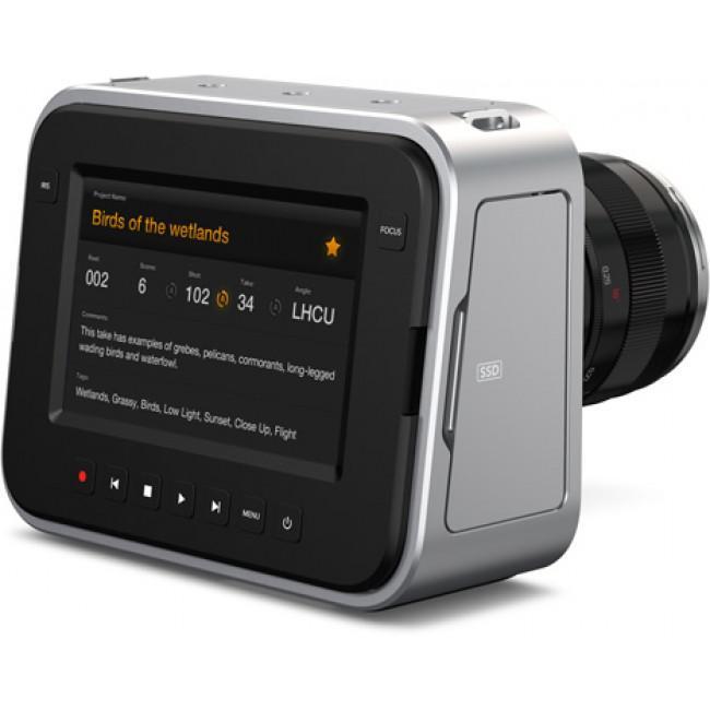 Caméra Blackmagic Design Cinema Camera EF - Argent/Noir