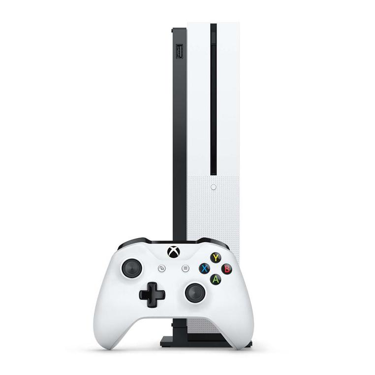 Console Microsoft Xbox One S 1 To + Gears of War 4 - Blanc