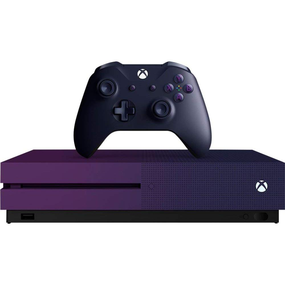 Console Microsoft Xbox One S 1 To - Violet