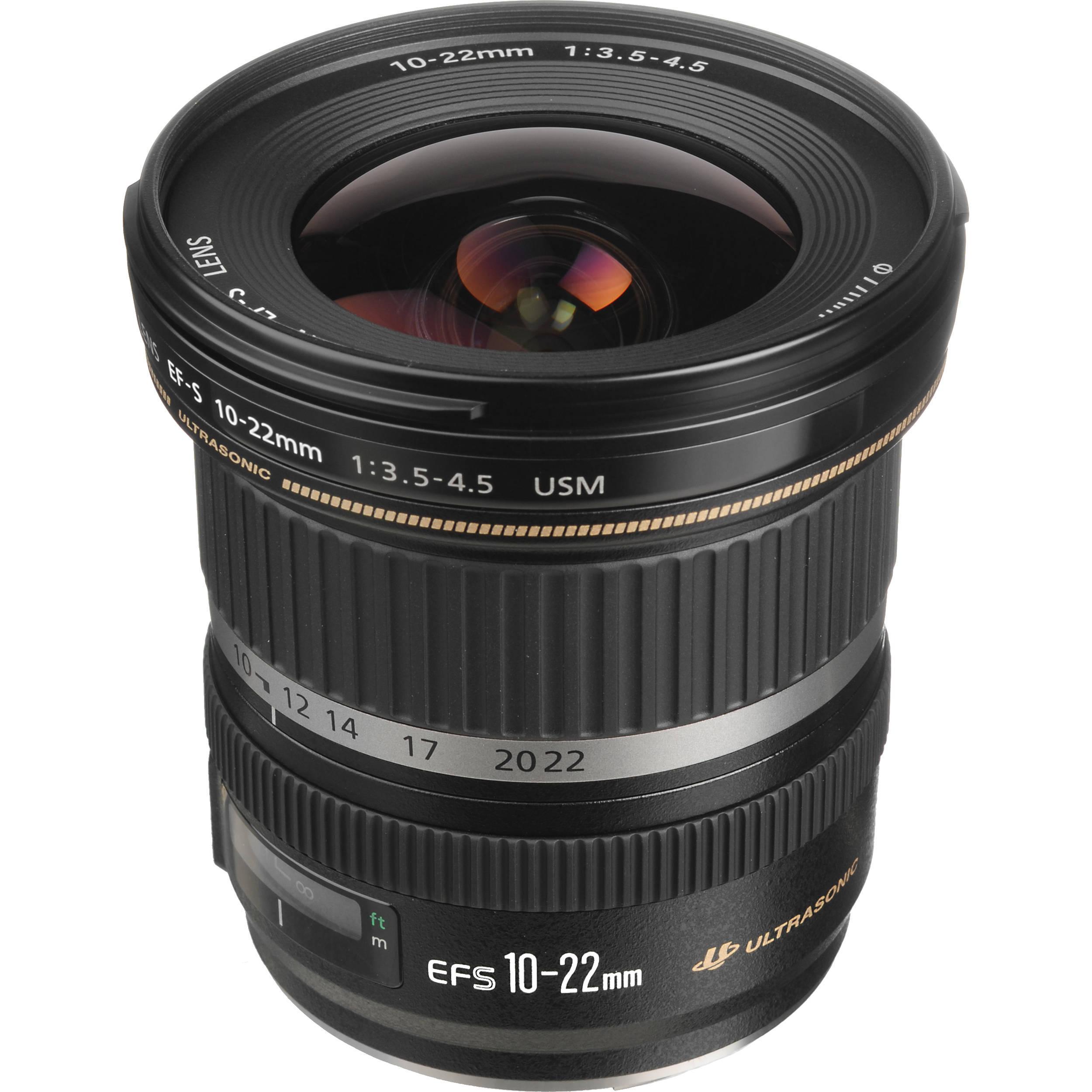 Camera Lense EF-S 10-22mm f/3.5-4.5