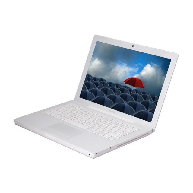 """MacBook 13"""" (2009) - Core 2 Duo 2 GHz - HDD 160 GB - 2GB - AZERTY - Französisch"""