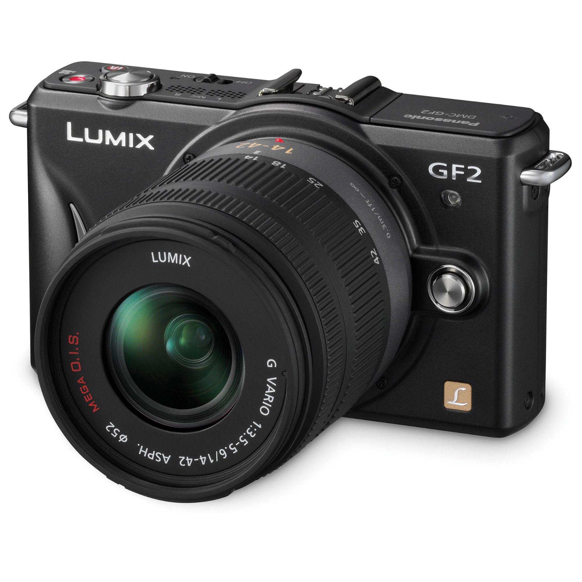 Panasonic Lumix DMC-GF2 Hybrid 12 - Black