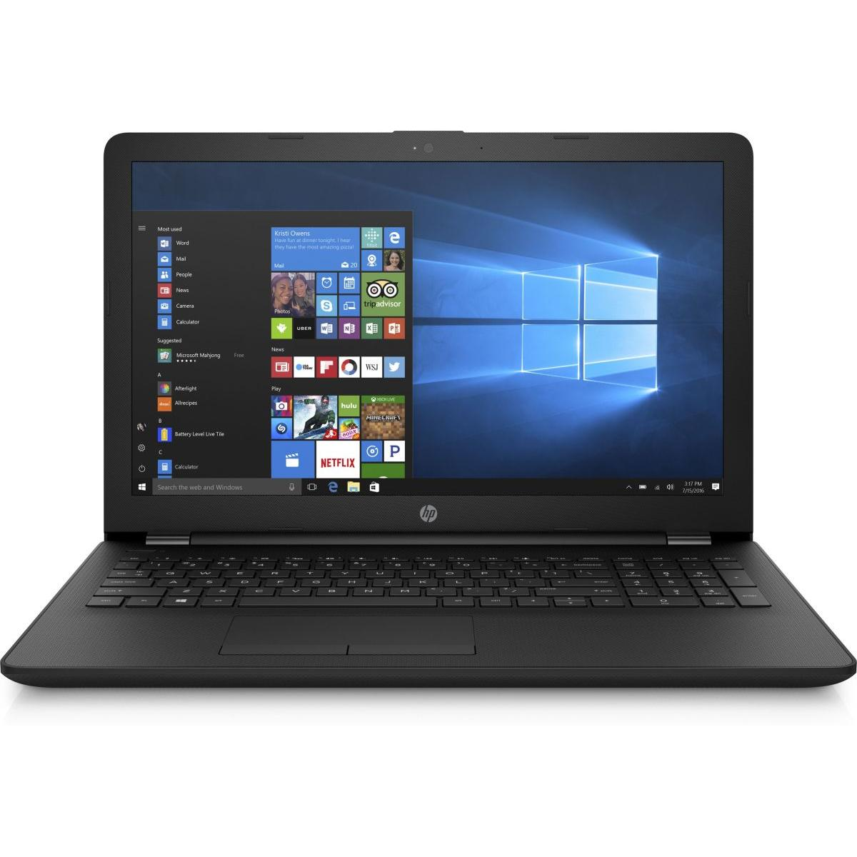 "HP 15-bw000nf 15"" E2-Series 1,5 GHz - HDD 500 GB - 4GB AZERTY - Französisch"