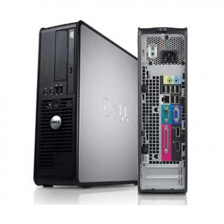 Dell OptiPlex 760 SFF Core 2 Quad 2,66 GHz - HDD 160 Go RAM 4 Go