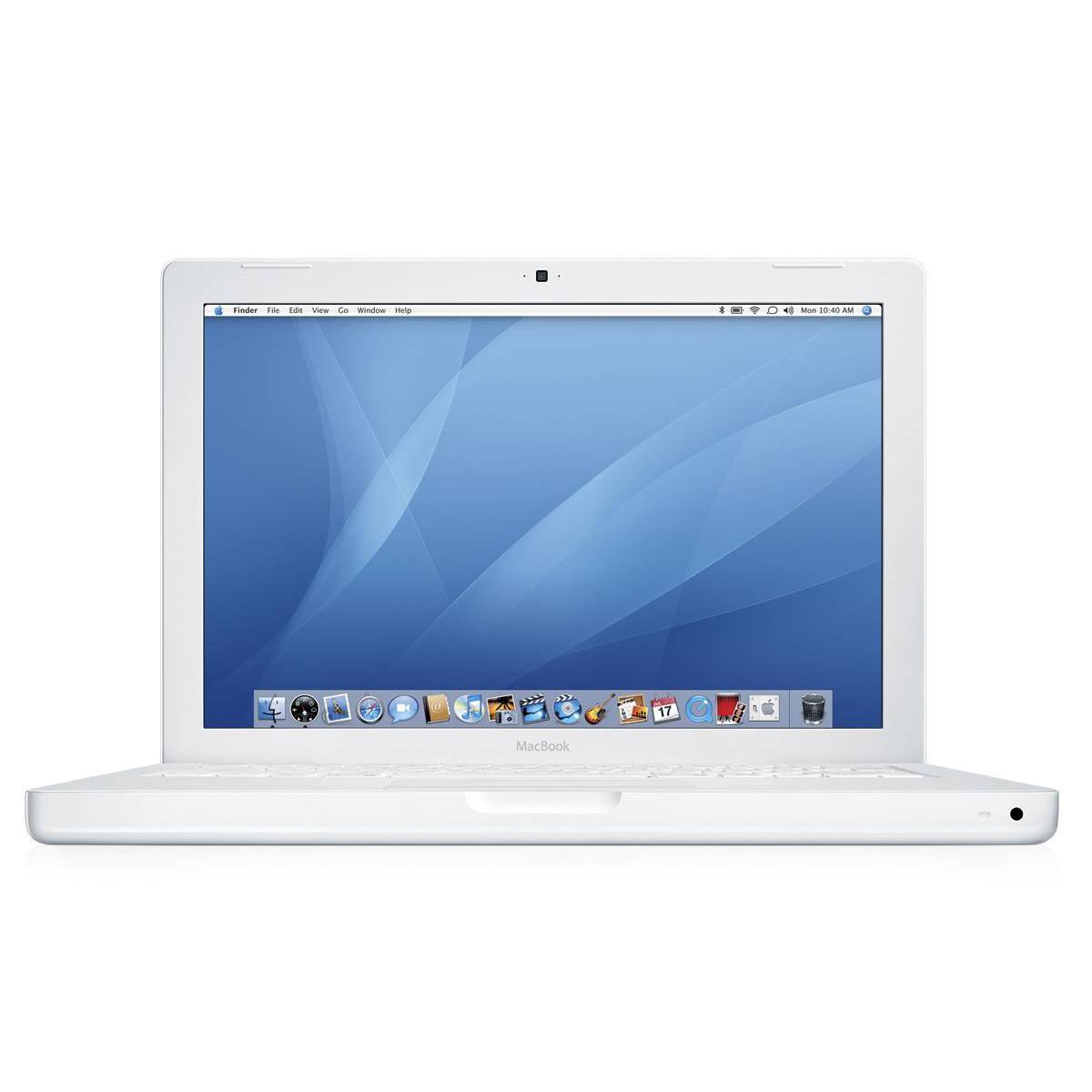 """MacBook 13"""" (2007) - Core 2 Duo 2,2 GHz - HDD 160 GB - 2GB - AZERTY - Französisch"""