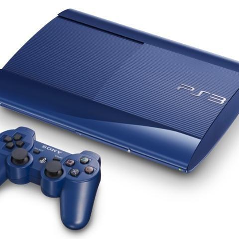 Sony PS3 500 Go - Bleu