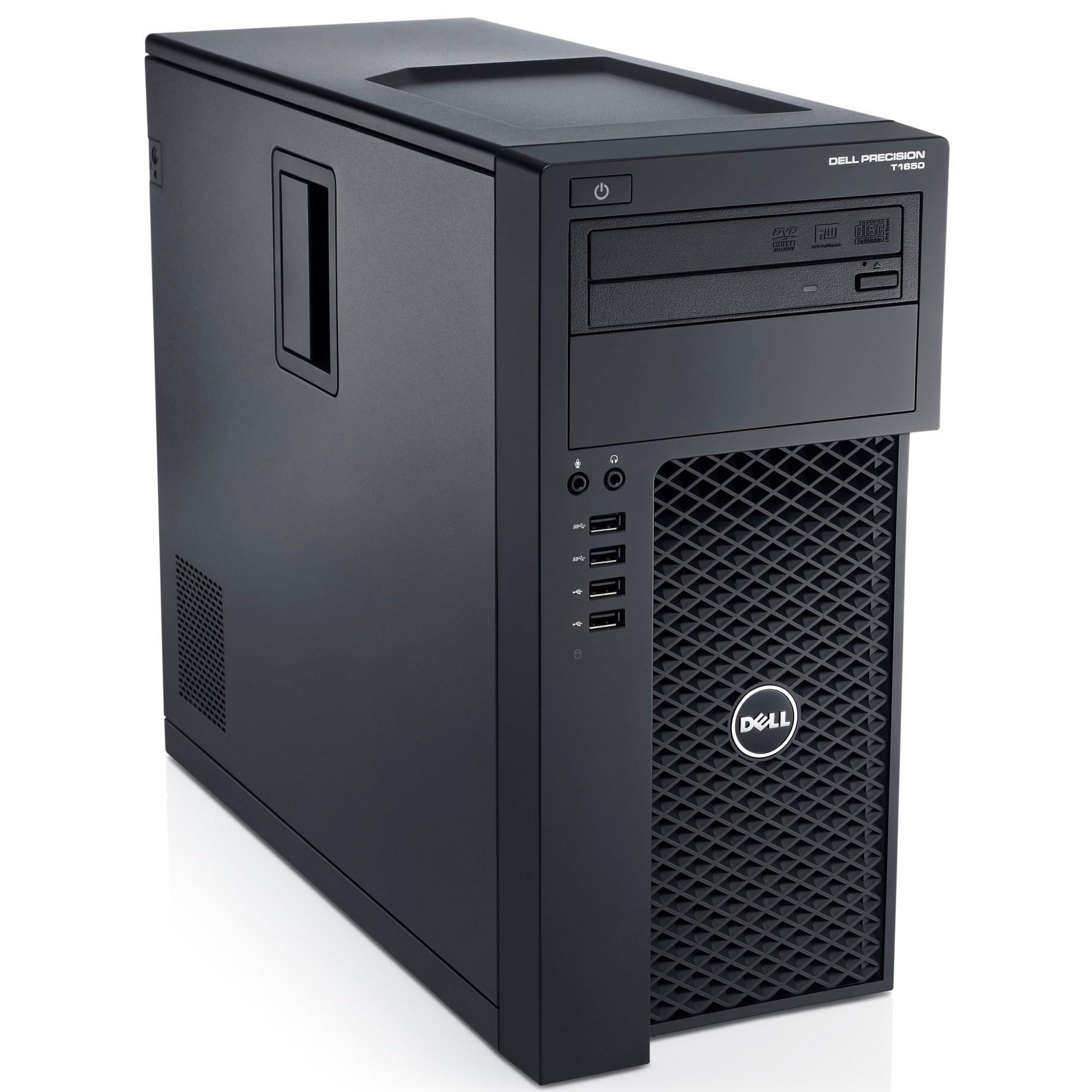 Dell Precision T1700 Xeon E3-1240 3,4 GHz - HDD 500 Go RAM 16 Go