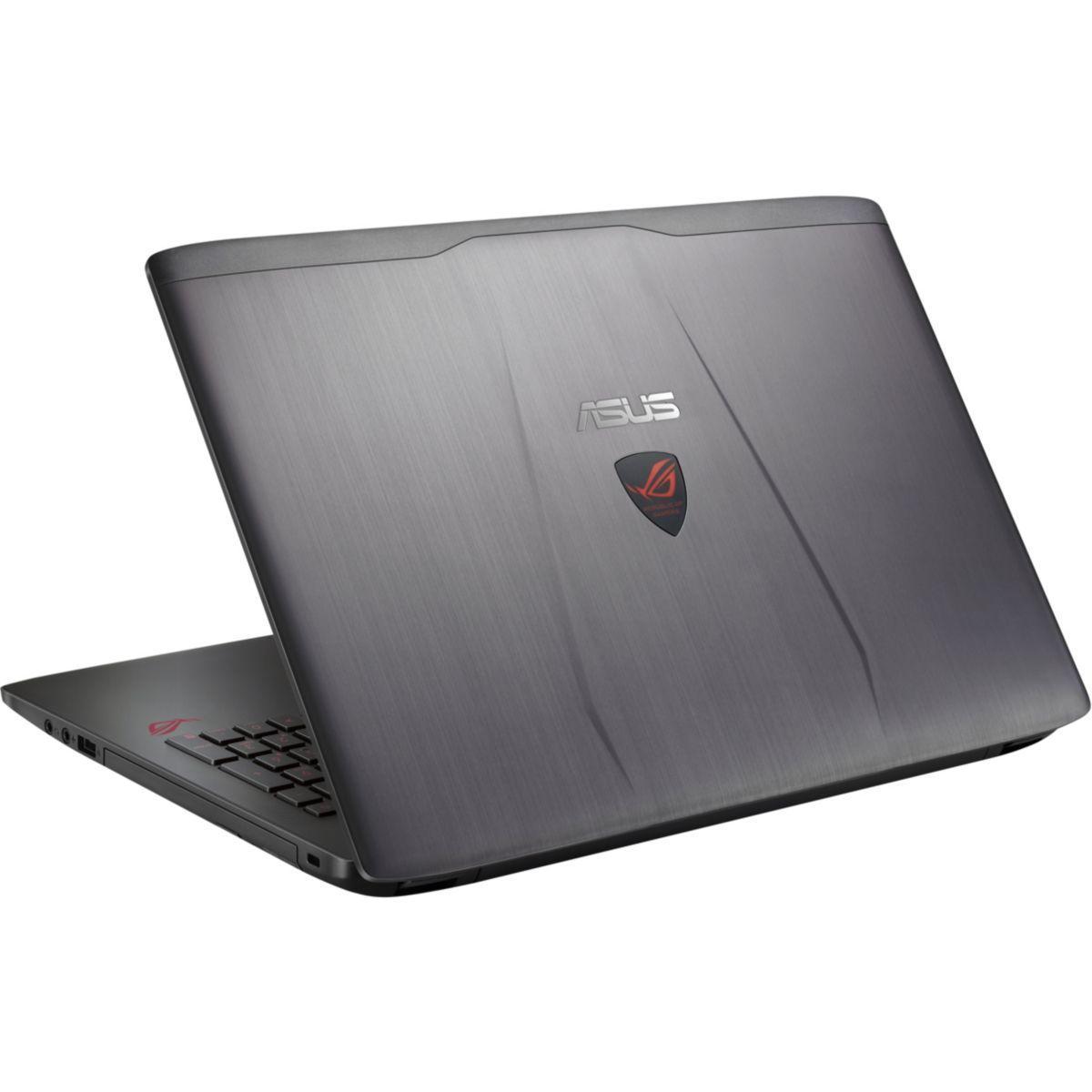 """Asus ROG G552VW-DM475T 15"""" Core i7 2,6 GHz  - SSD 128 GB + HDD 1 TB - 8GB - NVIDIA GeForce GTX 960M AZERTY - Französisch"""