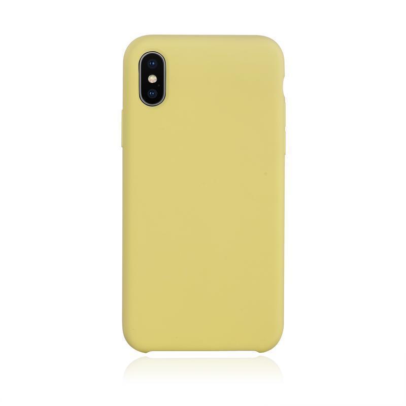 funda iphone xs amarilla