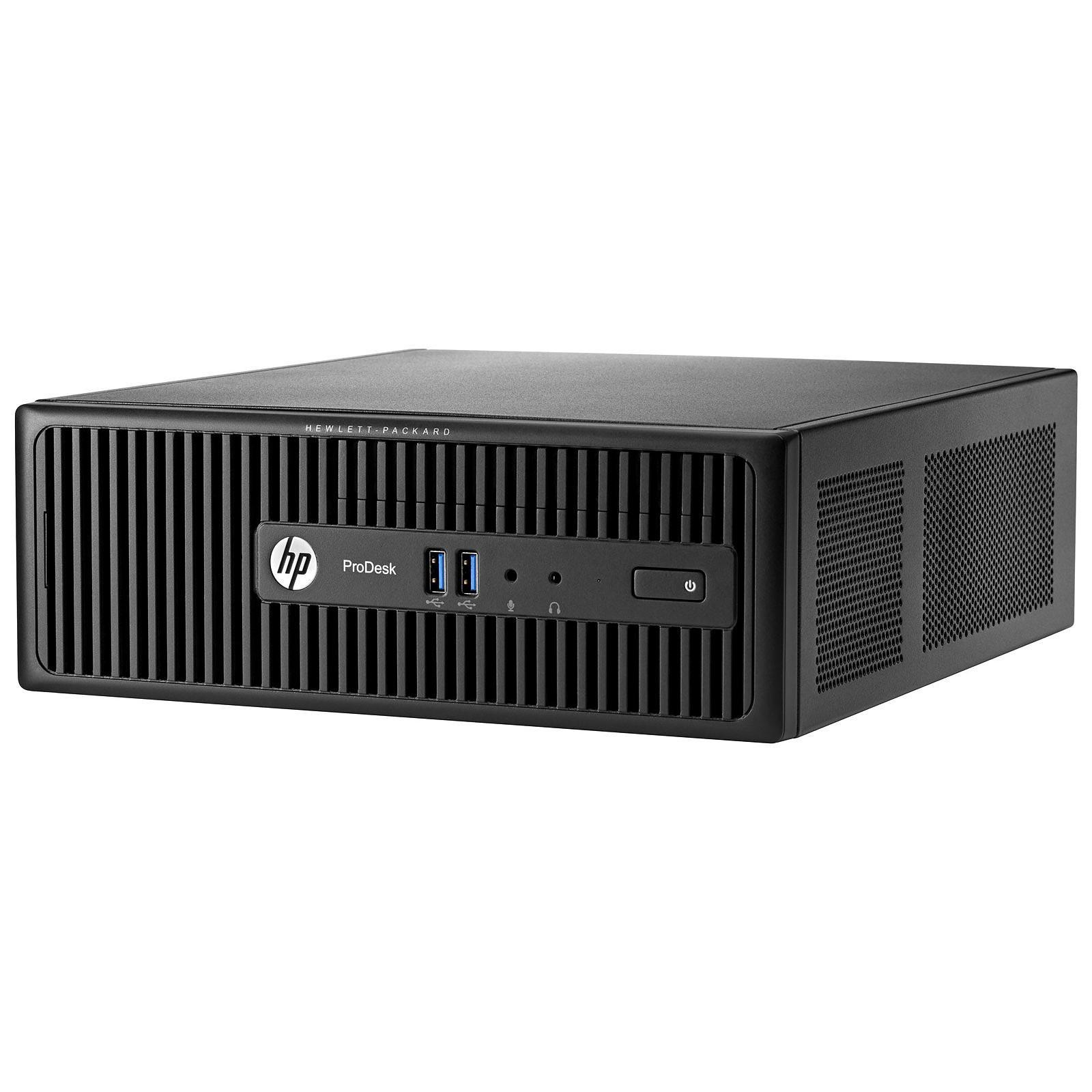 HP ProDesk 400 G3 SFF Pentium 3,3 GHz - HDD 500 Go RAM 4 Go